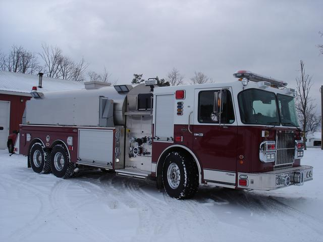 Tanker Committee Travels To Locke, NY - South Salem Fire Department