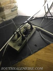 Surge protector from 2nd electrical fire